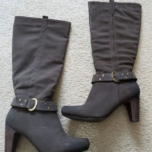 Shoes - Womens wide calf boots
